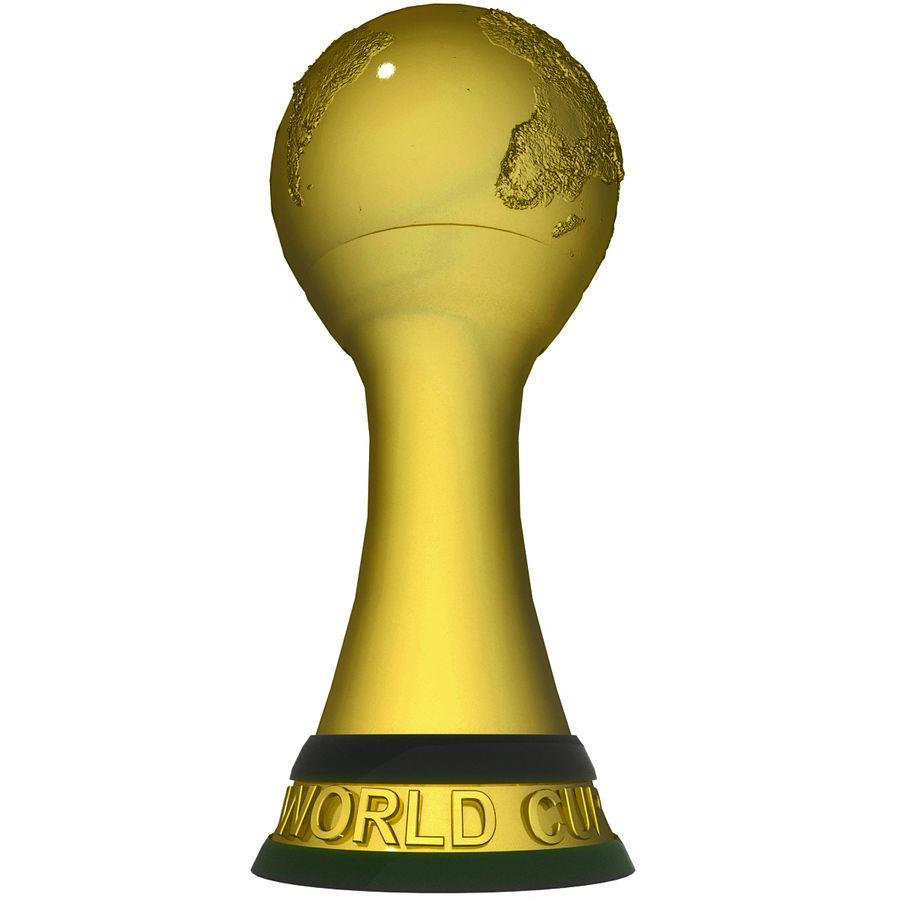 Futbol Kupası royalty-free 3d model - Preview no. 3