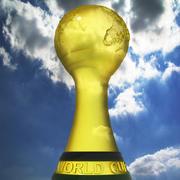 Futbol Kupası 3d model