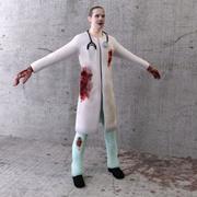 Zombie 05 3d model