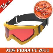 滑雪眼镜 3d model