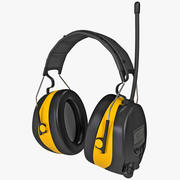Protection Worktunes Ear Muff Headset 3d model