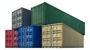 Kargo konteynırları 3d model