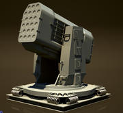 RAM Rim-116 Rolling Airframe Missile PDMS 3d model