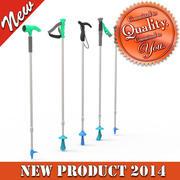 Snow Walker Poles 3d model
