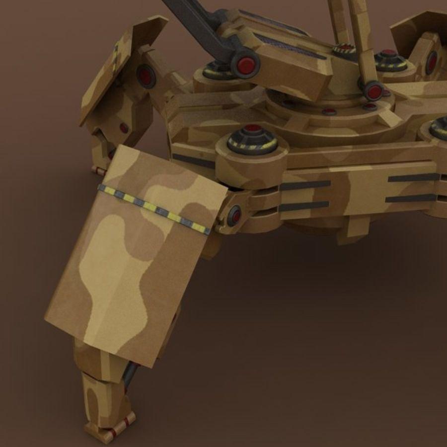 ウォーカーロケットランチャー royalty-free 3d model - Preview no. 12