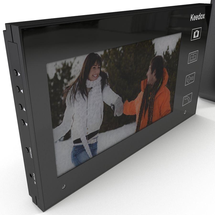 비디오 인터콤 KEEDOX 세트 royalty-free 3d model - Preview no. 16