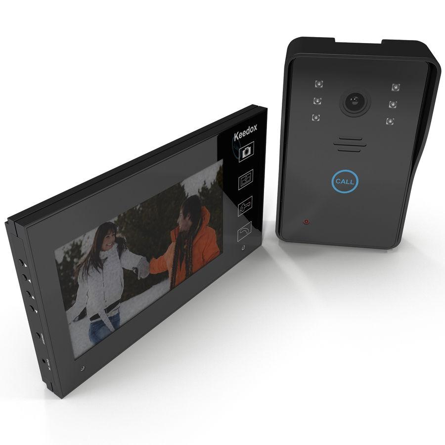 비디오 인터콤 KEEDOX 세트 royalty-free 3d model - Preview no. 2