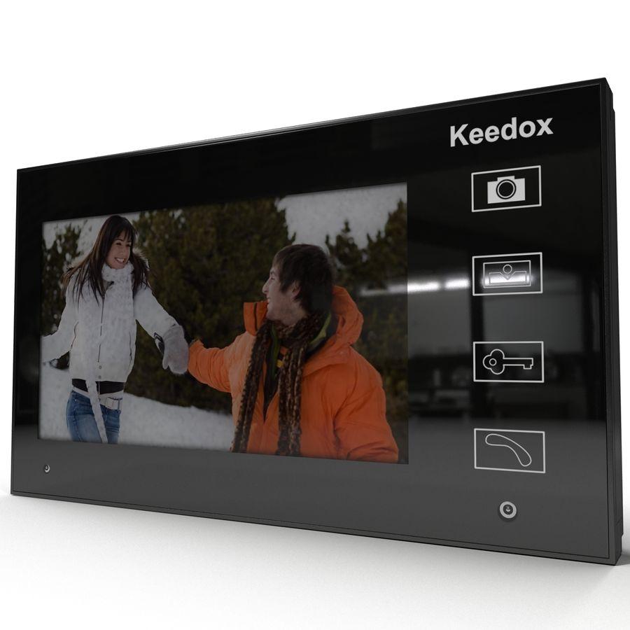 비디오 인터콤 KEEDOX 세트 royalty-free 3d model - Preview no. 15