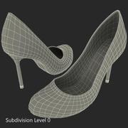 Zapatos Stilettos 2 modelo 3d