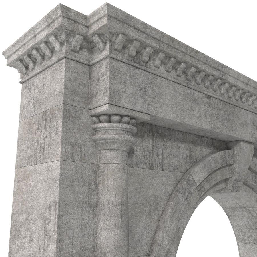 建築のアーチ royalty-free 3d model - Preview no. 14
