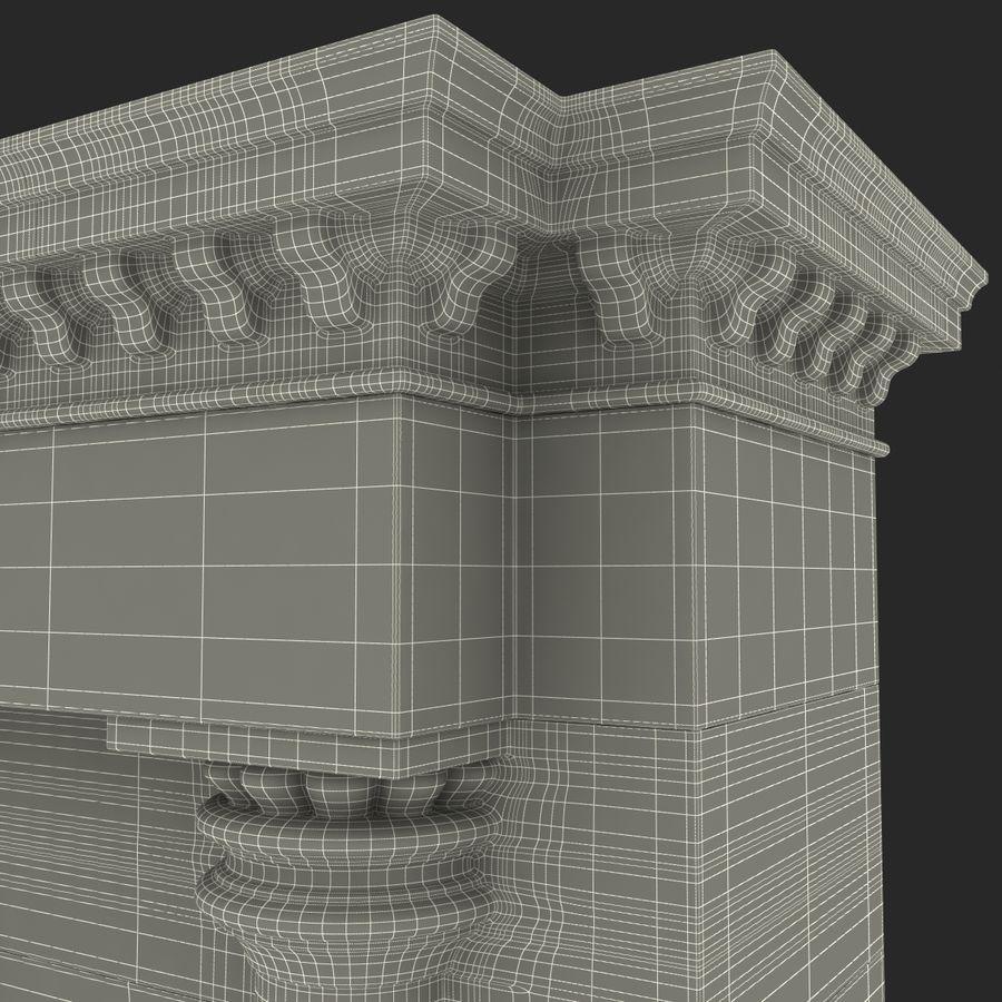 建築のアーチ royalty-free 3d model - Preview no. 24