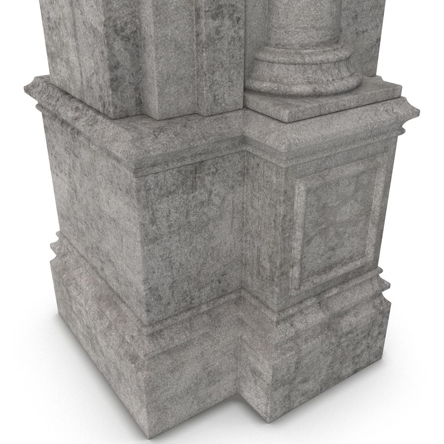 Architectural Arch royalty-free 3d model - Preview no. 15