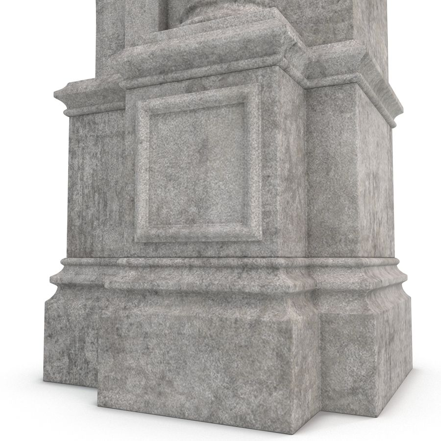 Architectural Arch royalty-free 3d model - Preview no. 18