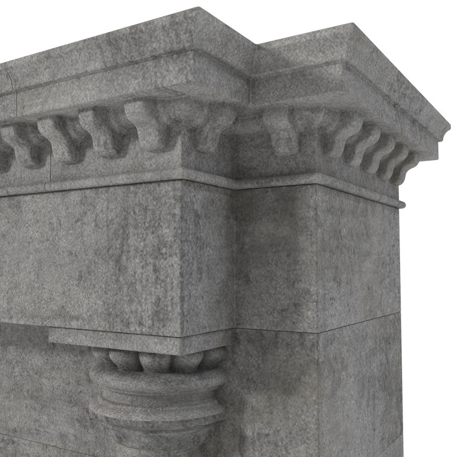 Architectural Arch royalty-free 3d model - Preview no. 16