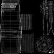 Silla de malla Eames modelo 3d