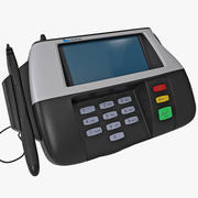 Credit Card Terminal Verifone 3d model