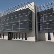 Modern Building 036 3d model