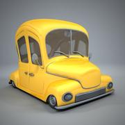 Antique Cartoon Car 3d model