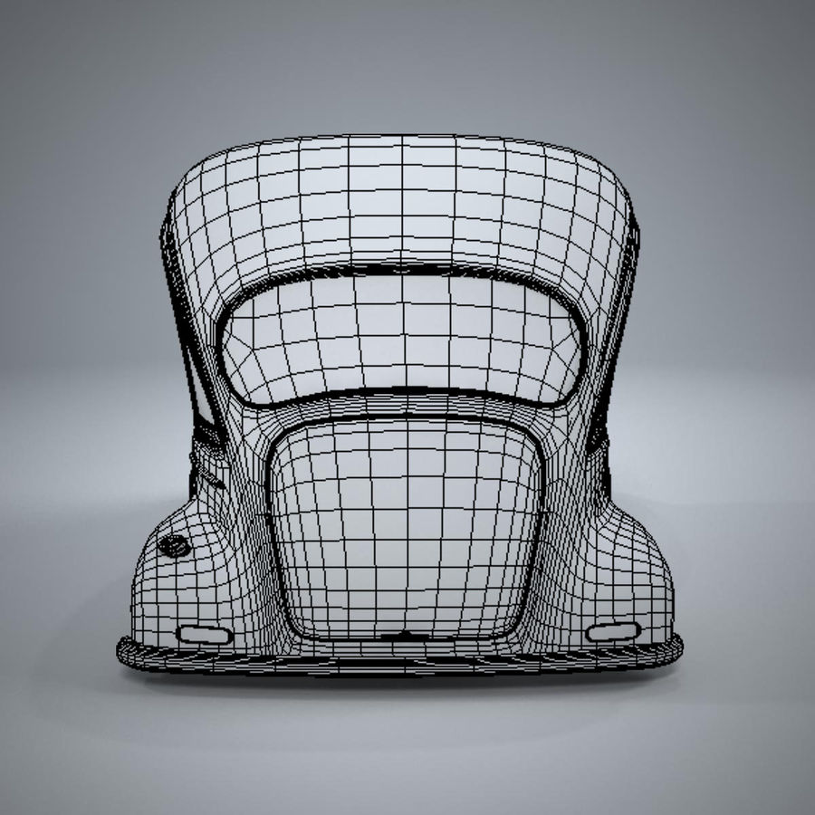 アンティーク漫画車 royalty-free 3d model - Preview no. 14