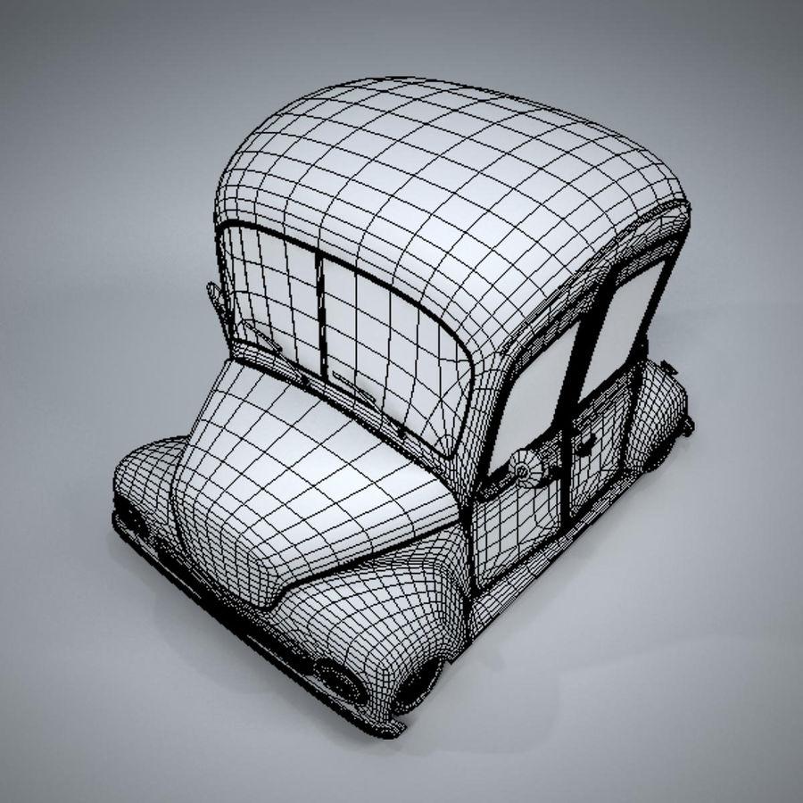 アンティーク漫画車 royalty-free 3d model - Preview no. 22