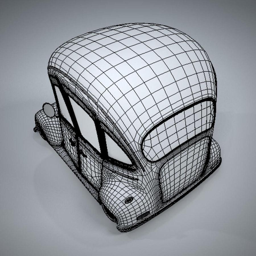 アンティーク漫画車 royalty-free 3d model - Preview no. 21