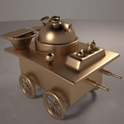 Arabian Bean Cart 3d model