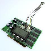PCB Circuit Board 3d model