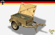 sd ah 51 ammo trailer 3d model