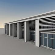 Modern Building 060 3d model