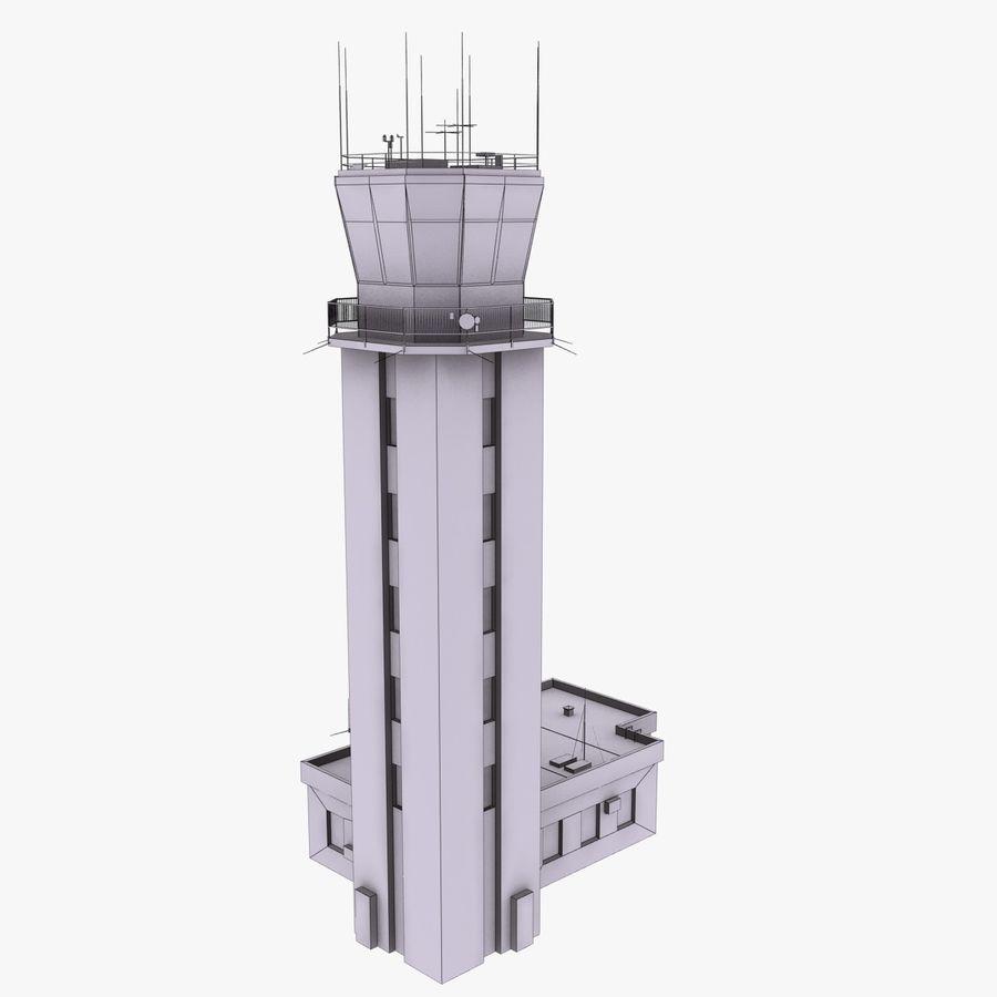 Tour de contrôle du trafic aérien royalty-free 3d model - Preview no. 14
