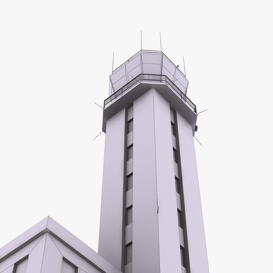 Tour de contrôle du trafic aérien royalty-free 3d model - Preview no. 15