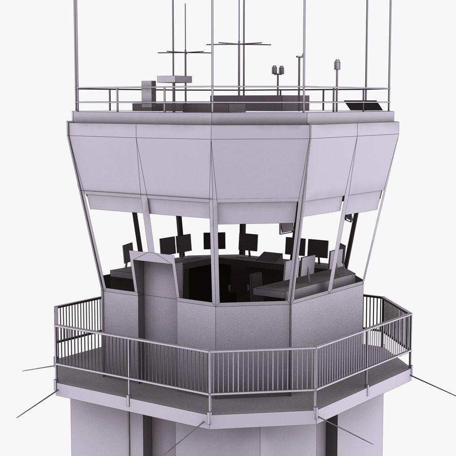 Tour de contrôle du trafic aérien royalty-free 3d model - Preview no. 16