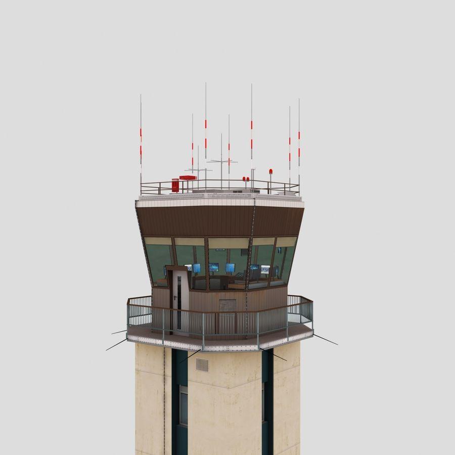 Tour de contrôle du trafic aérien royalty-free 3d model - Preview no. 6