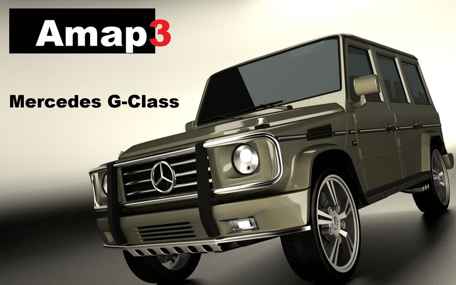 G-Class Mercedes Benz royalty-free 3d model - Preview no. 1