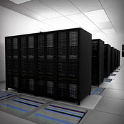Communications Server Room 3d model
