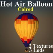 HOT COL 3d model