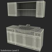 Meble łazienkowe 3d model