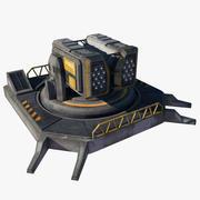 Füze Taret 3d model