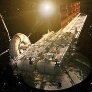 Платформа разработки астероидов (Sci-Fi) 3d model