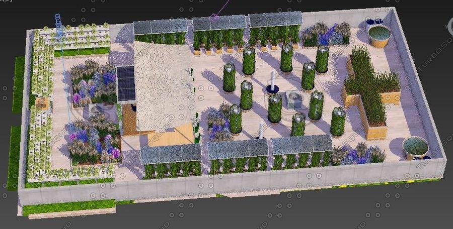 Giardino sul tetto royalty-free 3d model - Preview no. 3