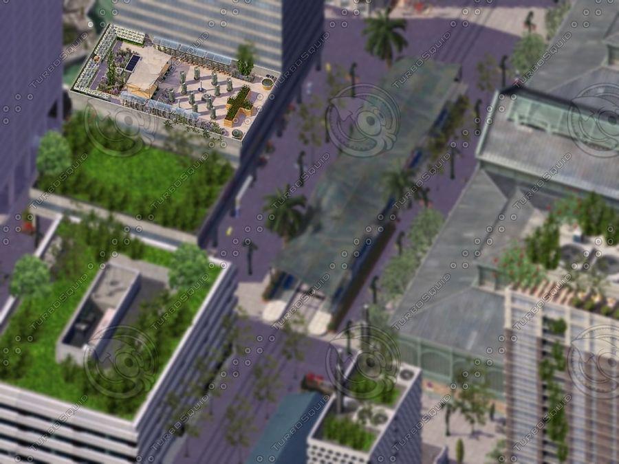Giardino sul tetto royalty-free 3d model - Preview no. 7