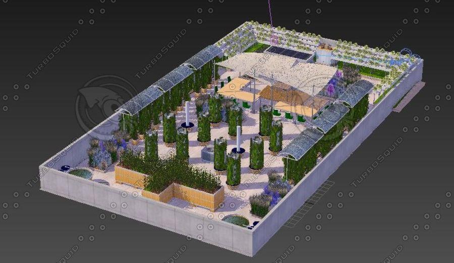Giardino sul tetto royalty-free 3d model - Preview no. 8