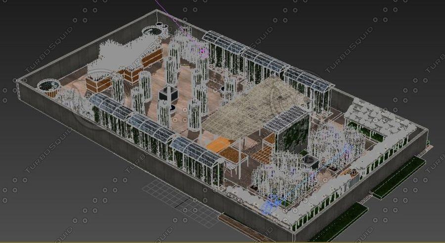 Giardino sul tetto royalty-free 3d model - Preview no. 10