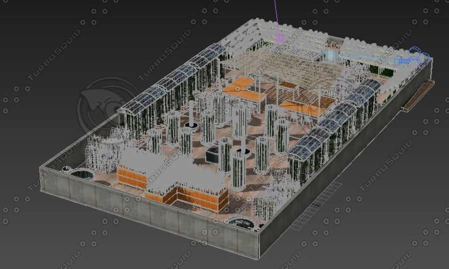 Giardino sul tetto royalty-free 3d model - Preview no. 9