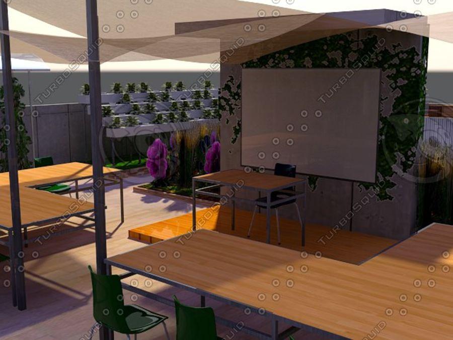 Giardino sul tetto royalty-free 3d model - Preview no. 2