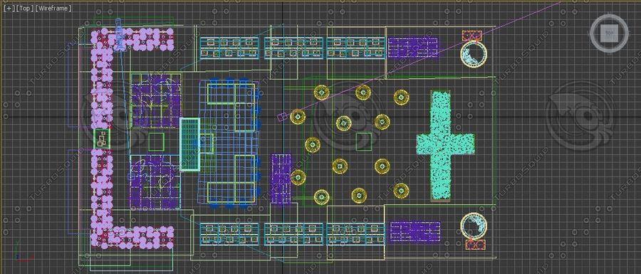 Giardino sul tetto royalty-free 3d model - Preview no. 12