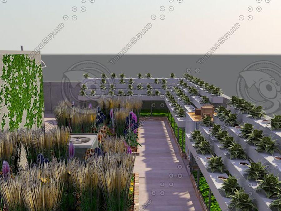 Giardino sul tetto royalty-free 3d model - Preview no. 5