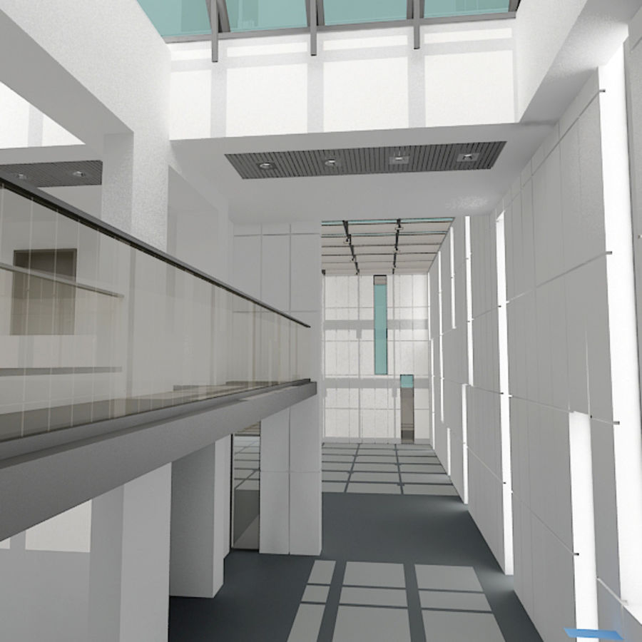 Architecture moderne royalty-free 3d model - Preview no. 13