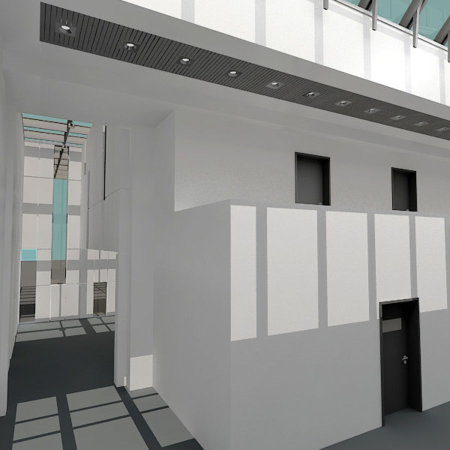 Moderne architectuur royalty-free 3d model - Preview no. 5