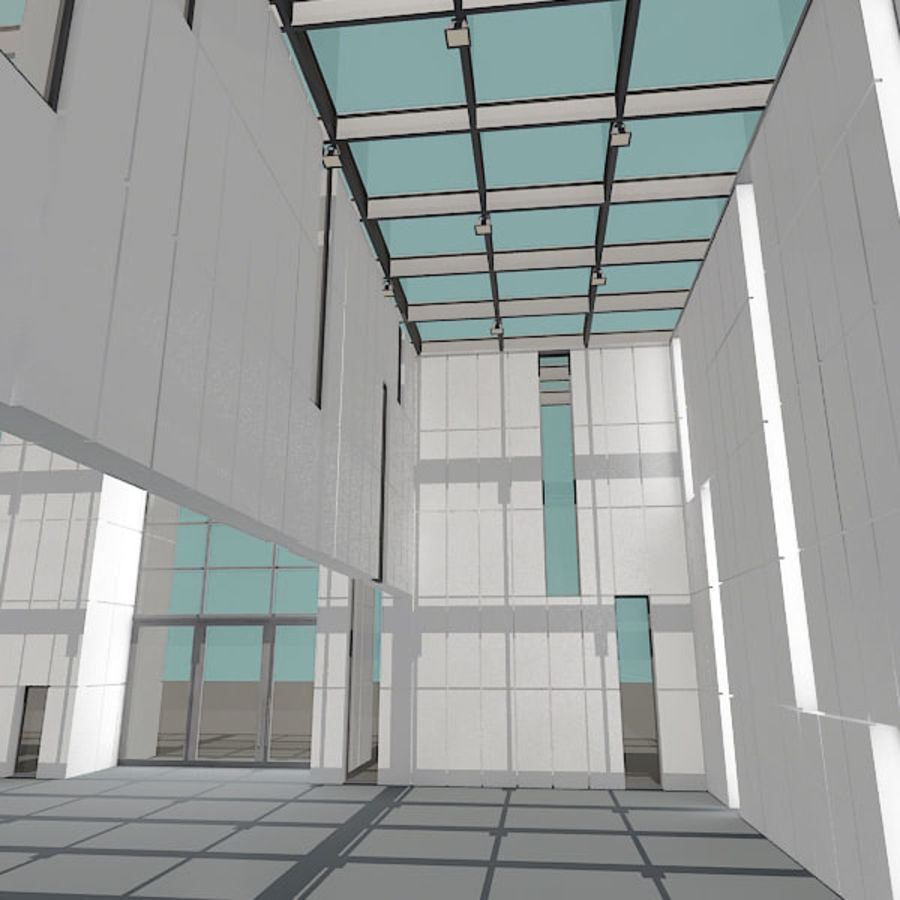 Moderne architectuur royalty-free 3d model - Preview no. 14